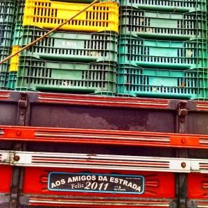 Caminhão de uva de Antônio Prado - RS